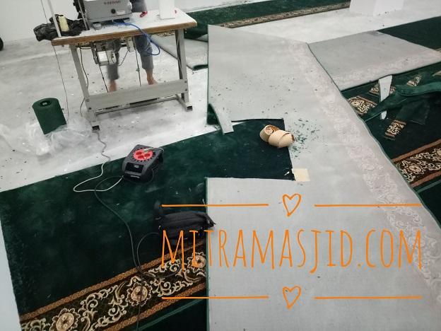 Harga Karpet Masjid Roll